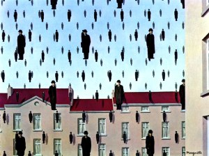 Golconda, 1953 by Rene Magritte
